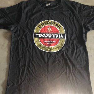 🌸6 for $15 GoldStar Israeli Beer T-shirt